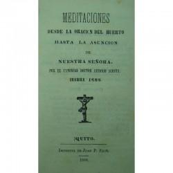 Meditaciones desde la...
